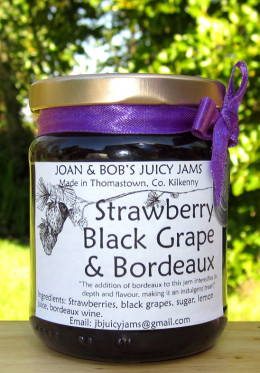 Strawberry black grape Bordeaux